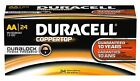 NEW DURACELL COPPERTOP AA ALKALINE BATTERIES SEVENTY-TWO (72) PER BOX EXP 2024