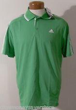NWT Adidas Mens Response Traditional Polo Shirt L Intense Green MSRP$45