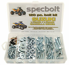 120 pc Bolt Kit Suzuki LT250R LT500R ATV QUADZILLA fenders plastic engine seat