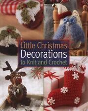 Little Christmas Decorations to Knit and Crochet-ExLibrary