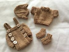 HAND KNITTED DOLLS OUTFIT 10-11 IN REBORN/OOAK/EMMY