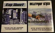 Haven: City of Violence RPG Lot BULLETPROOF SCREEN + RAP SHEET D20 D&D SW NEW!!