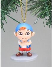 Disney Jake & Neverland Pirates Cubby Christmas Holiday Ornament PVC Figure 2.5""
