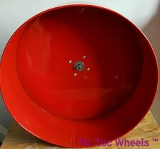 "14"" metal chinchilla wheel Silent exercise wheel degu tictac RED"