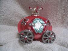 Cinderella Pumpkin Coach Carriage Glass Ornament  - Storybook Royal Princess