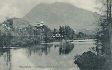 Cartolina di Borgosesia Vercelli - Sant'Anna e monte Fenera  - Viaggiata 1916