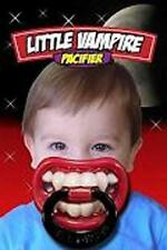 VAMPIRE  BABY TEETH  NOVELTY CHILDS FUNNY PACIFIER unique SILICONE PACIFERS