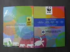 MALAYSIA WWF 5OTH ANNIVERSARY COIN CARD