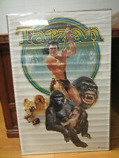 Vintage Tarzan 1983-1984 Edgar Rice Burroughs movie poster Original 214