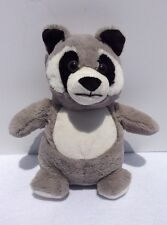 B.J. Toy Company Raccoon Plush Stuffed Animal 8 Inches Tall.
