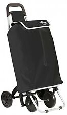 Shopping trolley on 4 wheels - Excellent stability - Foldable to save space -