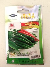 Thai Very Hot Red&Green Chili Pepper Seeds Spicy Organic Vegetable Plants Garden
