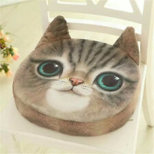 Cute Cat Face Cushion Soft Comfort Thicked Office Chair Seat Pad Gift 35*45cm