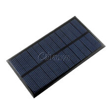 New 6V 1W Solar Panel Module DIY For Chargers Light Battery Cell Phone Toys