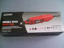 New Tool Shop Variable Speed Rotary Tool 35,000 RPM & 24 Piece Accesory Kit