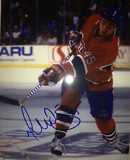 GILBERT DIONNE SIGNED RARE CLASSIC MONTREAL CANADIENS 8X10 W/EXACT PROOF W/COA