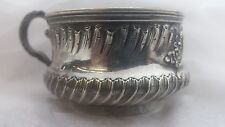 FRENCH STERLING SILVER CUP WITH HANDLE  DIDI
