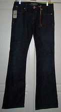 "NWT Parasuco Ladies Stretch Jeans Flare Leg Low Rise Denim Legend Sz 28"" HTF New"
