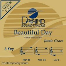 Jamie Grace - Beautiful Day - Accompaniment CD New