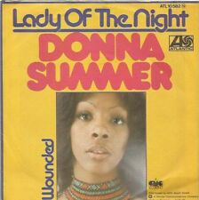 Donna Summer - Lady Of The Night / Wounded (Vinyl-Single 1975) !!!