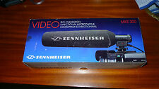 Sennheiser MKE 300 shotgun pro video mic microphone for rode 400 camcorder ETC.