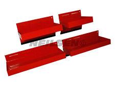 4pc magnetic tool tray set storage trays shelf van metal cabinet garage workshop