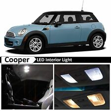 13x White LED Lights Interior Package Kit for 2007-2014 MINI Cooper S R56