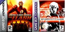Justice League Heroes: The Flash & Alex Rider: Stormbreaker new&sealed