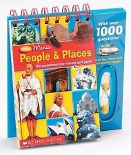 Minute Mania: People & Places Tefford, Lisa Spiral-bound fun trivia play 4 kids