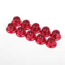 1/10 RC Racing Car 10pcs Alloy Anti-Loose Wheel Rim Lock Nut Alloy Hex HY00004R