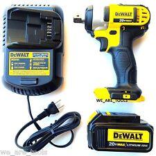 Dewalt 20 Volt DCF880 Cordless 1/2 Impact Wrench, 1) DCB200 3.0 Battery, Charger
