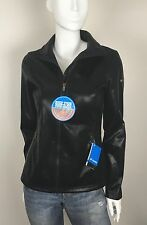 Columbia Jacket Full Zip Omni-Heat Thermal Insulated Reflective Black Size Small