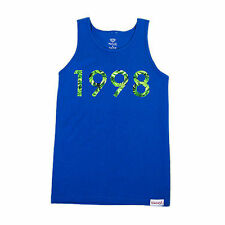 Diamond Supply Co. 1998 Hemp Tank Top Royal Blue Large Skate/Casual Clothing