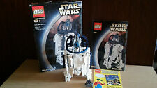 Lego Star Wars Technic R2-D2 8009 OPENED BOX 100% COMPLETE 242 pcs Manual EUC
