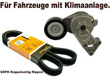 V-ribbed belts + Tensioner VW BORA GOLF IV 1.9 TDI