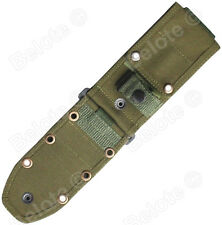 ESEE Model 6 and Laser Strike Replacement MOLLE Black Olive Drab Green 52MB-OD