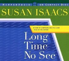 LONG TIME NO SEE BY SUSAN ISAACS ( CD, ABRIDGED) FREE SHIPPING