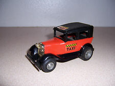 1970s VTG TONKA HOT ROD TAXI STEEL TOY CAR - 1930s FORD MODEL A