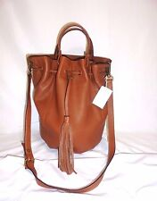 $198 MADEWELL J CREW THE AUSTIN TASSEL CROSSBODY BAG IN ENGLISH SADDLE NWT