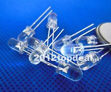 100pcs 5mm 1000mcd Ultra Violet UV LED Diode 3.2-3.4V 20mA For DIY