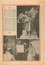 Maquette du Monument du Maréchal Foch de Maxime Real del Sarte 1931 ILLUSTRATION
