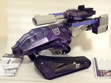 GI Joe Transformers SDCC 2012 Shockwave HISS Tank SHOCKTANK *LOOSE/COMPLETE*