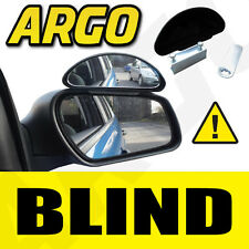 ADJUSTABLE BLIND SPOT MIRROR WING CAR DRIVING SAFETY CLAMP ON WIDE ANGLE TOWING