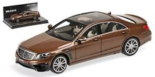 Minichamps 2015 Mercedes Benz Brabus 850 S63 S-Class Brown 1:43 New Item!