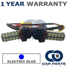 2X CANBUS XENON ELECTRIC BLUE H9 60 SMD LED DIPPED BEAM BULBS FOR VOLVO S80 XC70