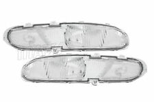 93-97 (NON-GT/SE) Ford Probe Base Model Clear Front Turn Signal Lights DEPO Pair