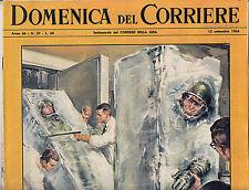 M7  DOMENICA DEL CORRIERE N. 37 ANNO 66 DEL 13 SETTEMBRE 1964