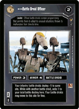 Battle Droid Officer [Near Mint/Mint] THEED PALACE star wars ccg swccg