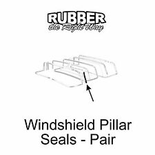 1955 1956 1957 Ford Thunderbird Windshield Pillar Seals - PAIR