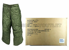 Lot of (15) US Military M65 M-65 PANT / TROUSER LINERS Cold Weather Field L NIB